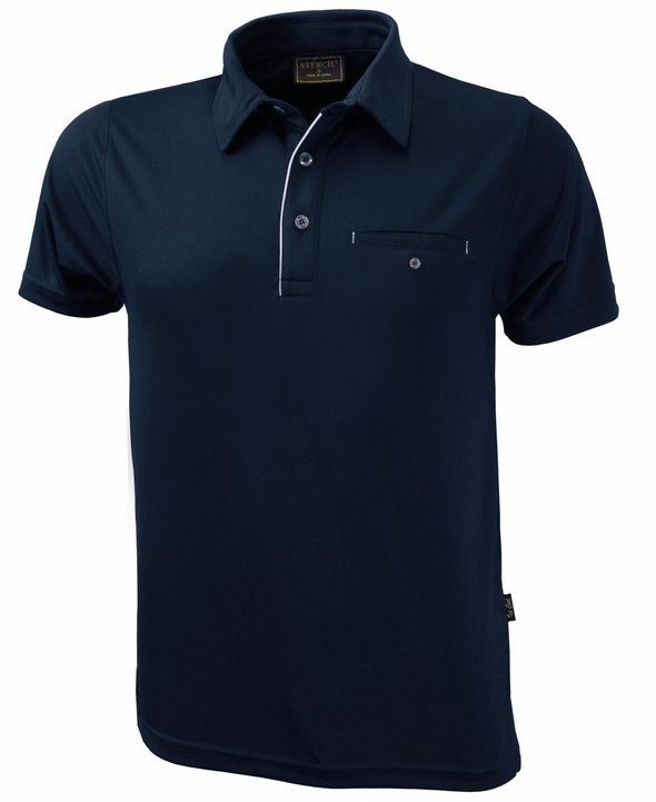Stencil - 1063 - MENS BOSTON POLO S/S