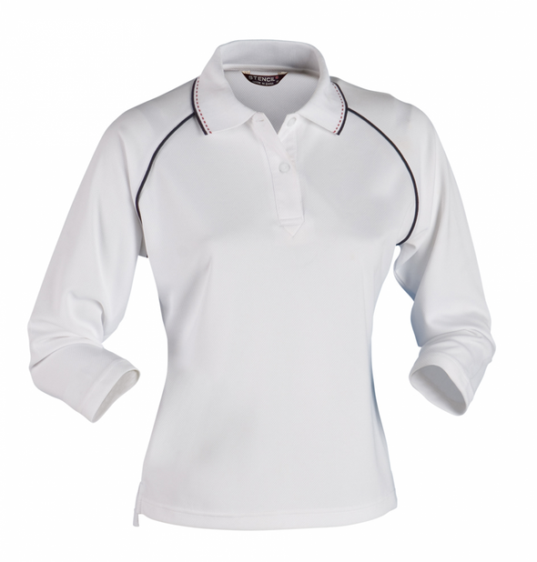 Stencil - 1140 - LADIES COOL DRY POLO 3/4S