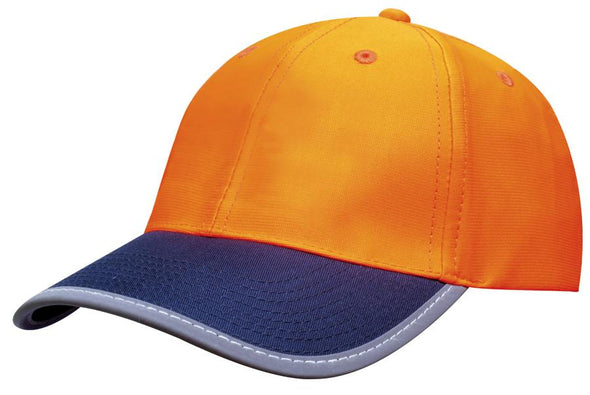Headwear - 6PNL Luminescent Safety Cap - 3021