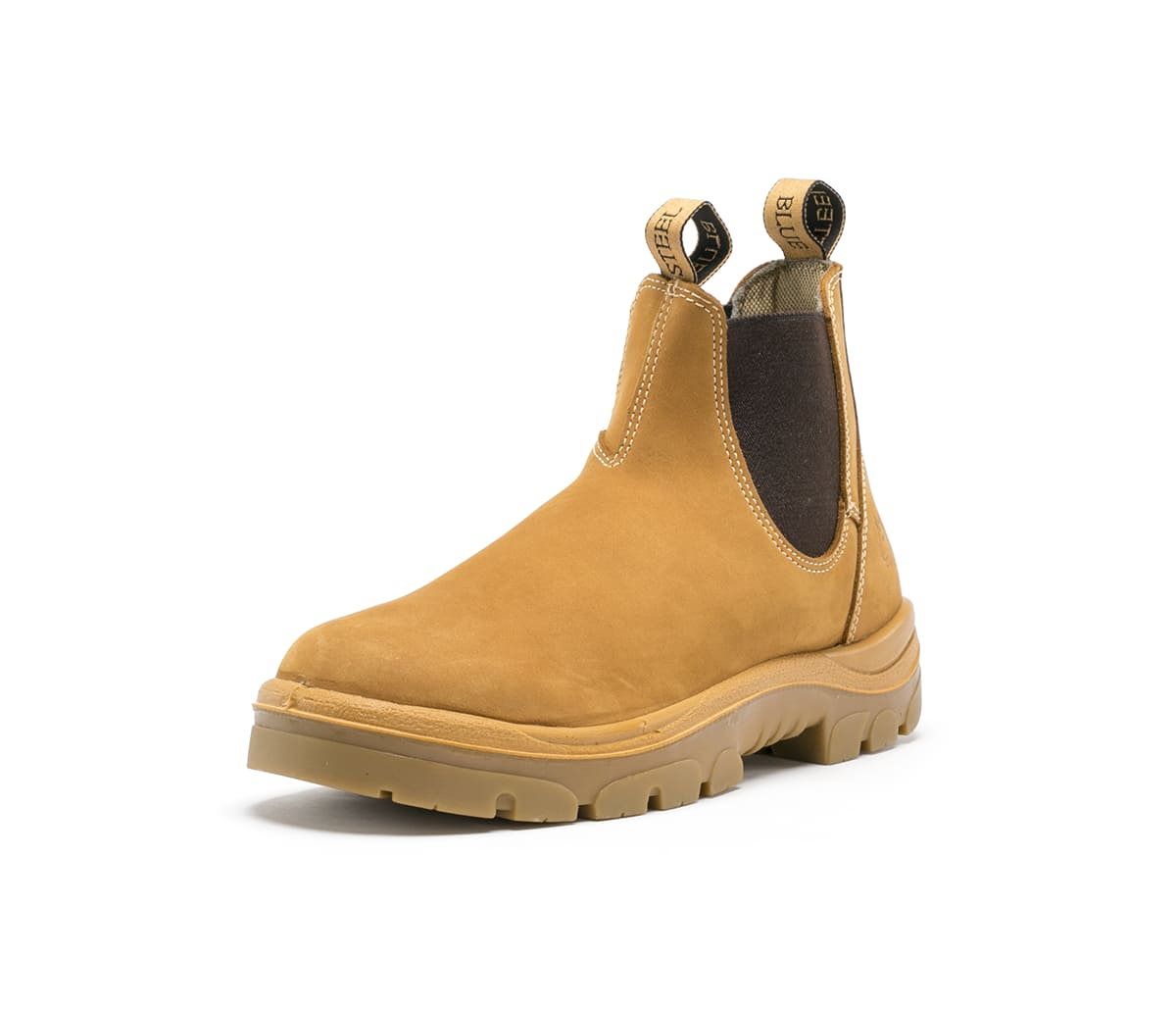 steel blue hobart non safety boots