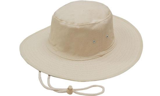 Headwear - Canvas hat with toggle - 3791 - National Workwear Australia