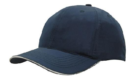 Headwear - Spring woven cap with strap & clip - 3817 - National Workwear Australia