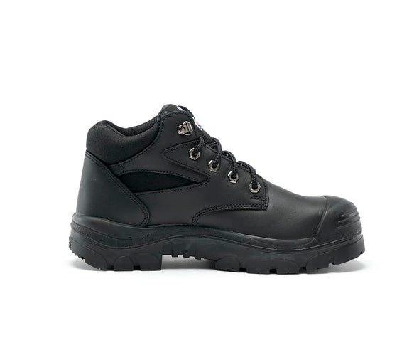 Steel Blue Boots - 382108 - Whyalla: Nitrile/Bump Cap/PR Midsole