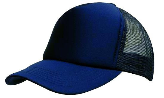 Headwear - Kids Mesh Back B/Ball - 3822 - National Workwear Australia