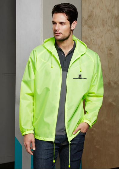 Biz Collection J123ML Rain Jacket at National Workwear Gold Coast Australia