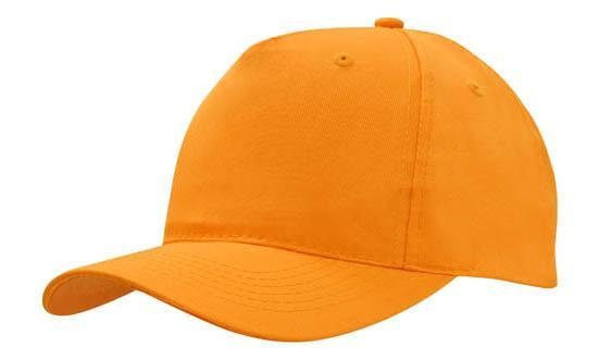 Headwear - 6PNL Breathable p/twill (no front seam) - 4011 - National Workwear Australia