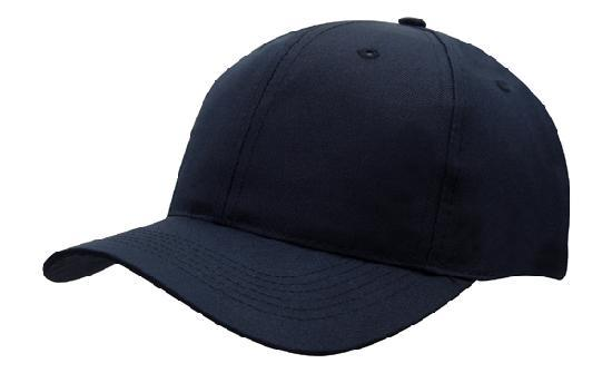 Headwear - 6PNL Breathable p/twill cap - 4012 - National Workwear Australia