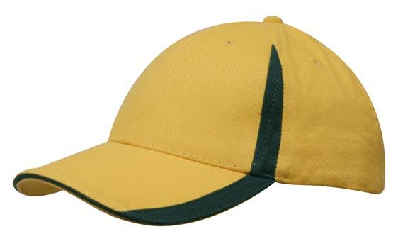 Headwear - BHC w/inserts on peak & crown - 4014 - National Workwear Australia