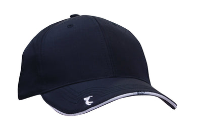Headwear - 6Pnl Ripstop Golf Cap - 4043 - National Workwear Australia