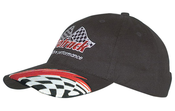 Headwear - 6PNL Brushed Ctn With swoosh & check - 4183