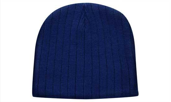 Headwear - Cable Knit Beanie - 4189 - National Workwear Australia