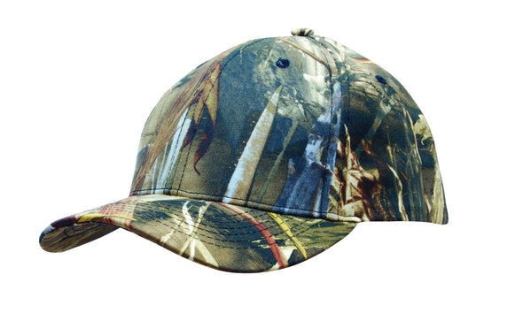 Headwear - 6Pnl True Timber DRT Camo Cap - 4197