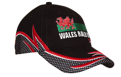 Headwear - 6PNL BHC cap with Mesh and reflective - 4238