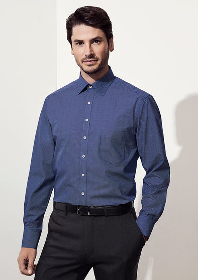 Biz Corporates - 44520 - Mens Oscar Long Sleeve Shirt