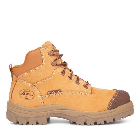 45-630Z Oliver Wheat Zip Sided Hiker Boot
