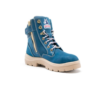Steel Blue Boots Southern Cross Zip Ladies Boot at National Workwear Gold Coast Australia.