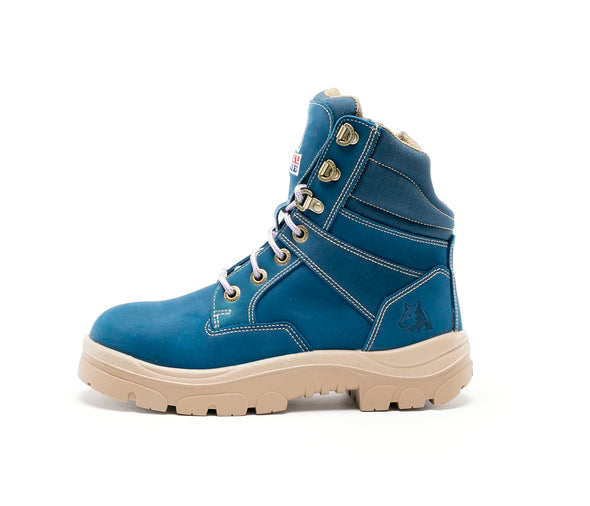 Steel Blue Boots - 512761 - Southern Cross Zip Ladies