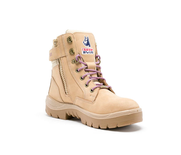 Steel Blue Boots - 522761 - Southern Cross Zip Ladies - Sand