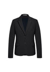 Biz Corporates -  60719 - Womens Two Button Mid Length Jacket
