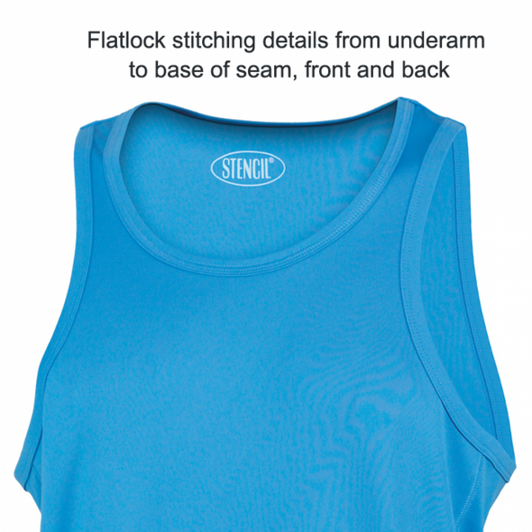 Stencil - 7014 - MENS COMPETITOR SINGLET SLEEVELESS
