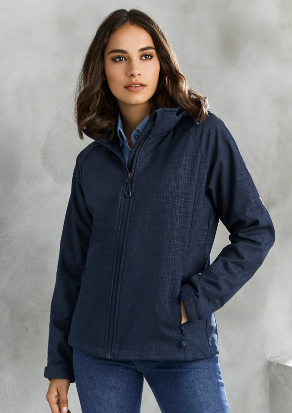 Biz Collection J135L Ladies Geo Jacket at National Workwear Gold Coast Australia
