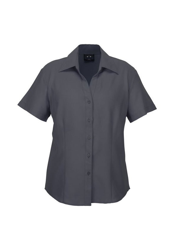 Biz Care - Ladies Plain Oasis Short Sleeve Shirt - LB3601 - National Workwear Australia