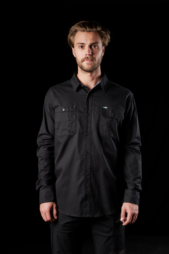 FXD Workwear Long Sleeve Work Shirt at National Workwear Gold Coast Australia.