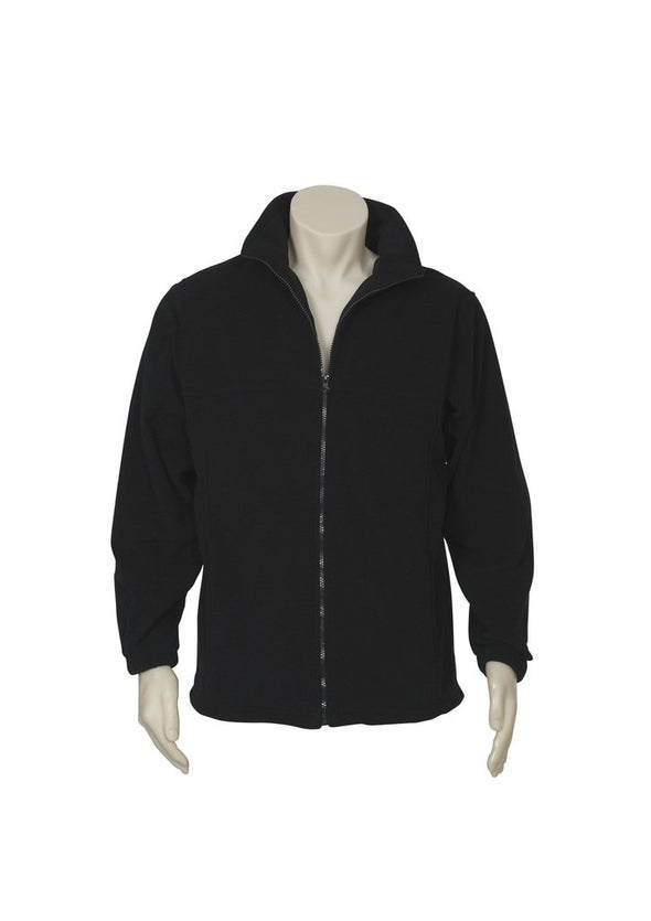 Biz Care - Men's Plain Micro Fleece Jacket - PF630 - National Workwear Australia