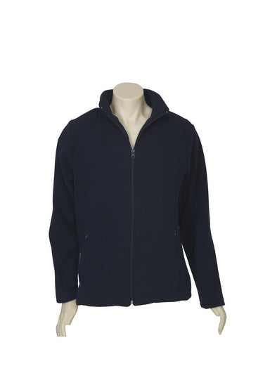 Biz Care - Ladies Plain Micro Fleece Jacket - PF631 - National Workwear Australia