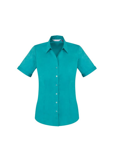 Biz Care - Ladies Monaco Short Sleeve Shirt - S770LS - National Workwear Australia