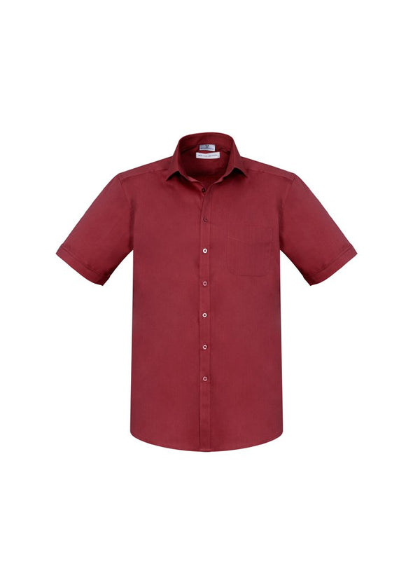 Biz care - Men's Monaco Short Sleeve Shirt - S770MS - National Workwear Australia