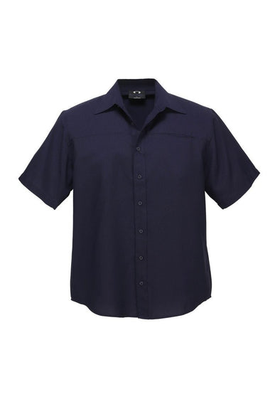 Biz Care - Men's Plain Oasis Short Sleeve Shirt - SH3603 - National Workwear Australia