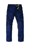 The FXD Workwear WP-5 Lightweight Work Pant, colour navy, photographed from the front.