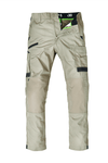 The FXD Workwear WP-5 Lightweight Work Pant, colour khaki, photographed from the front.
