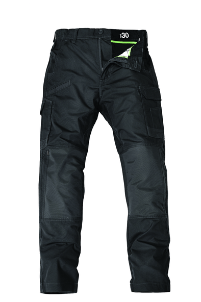 The FXD Workwear WP-5 Lightweight Work Pant, colour graphite, photographed from the front.