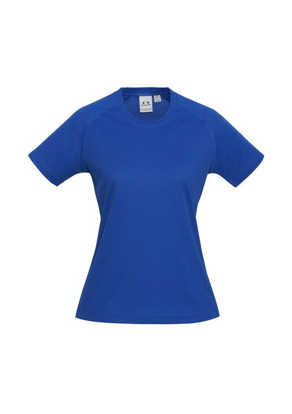 Biz Collection - Ladies Sprint Tee - T301LS - National Workwear Australia