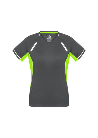 Biz Collection - Ladies Renegade Tee - T701LS - National Workwear Australia