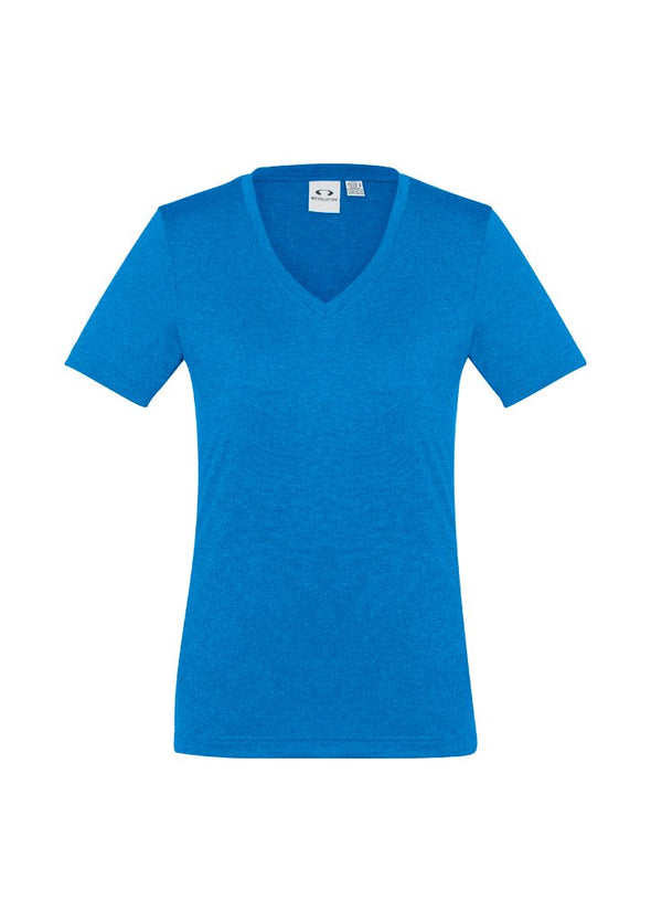 Biz Collection - Ladies Aero Tee - T800LS - National Workwear Australia