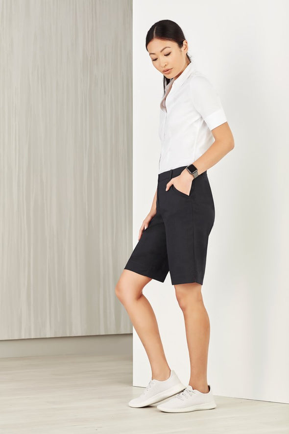 Biz Care - Womens Comfort Waist Cargo Short - CL957LS