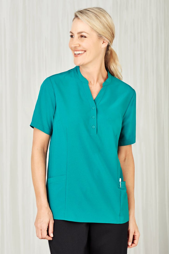 Biz Care - Womens Easy Stretch Tunic - CS949LS - National Workwear Australia