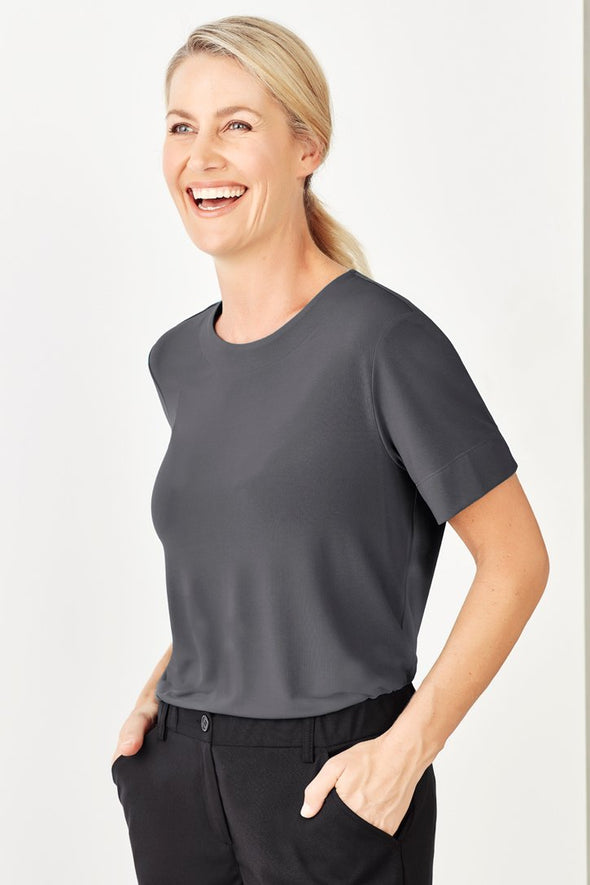 Biz Care - Womens Soft Jersey T-Top - CS952LS - National Workwear Australia