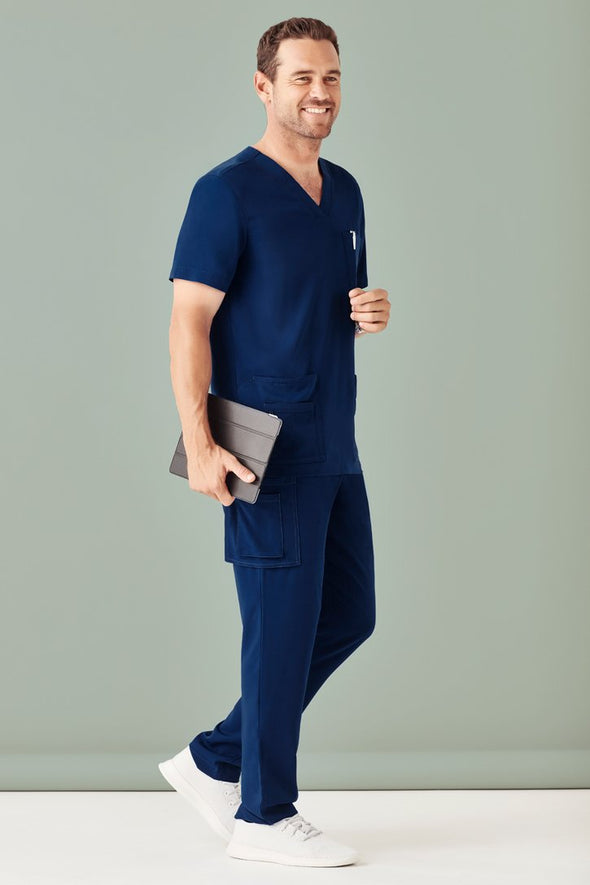 Biz Care - Men's Multi-Pocket Scrubs Pant - CSP946ML - National Workwear Australia