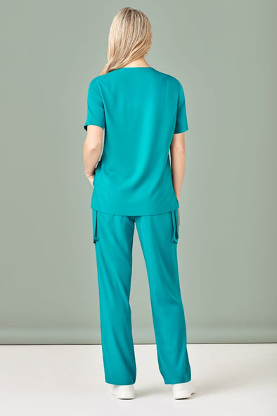 Biz Care - Women's Easy Fit V-Neck Scrubs Top - CST941LS