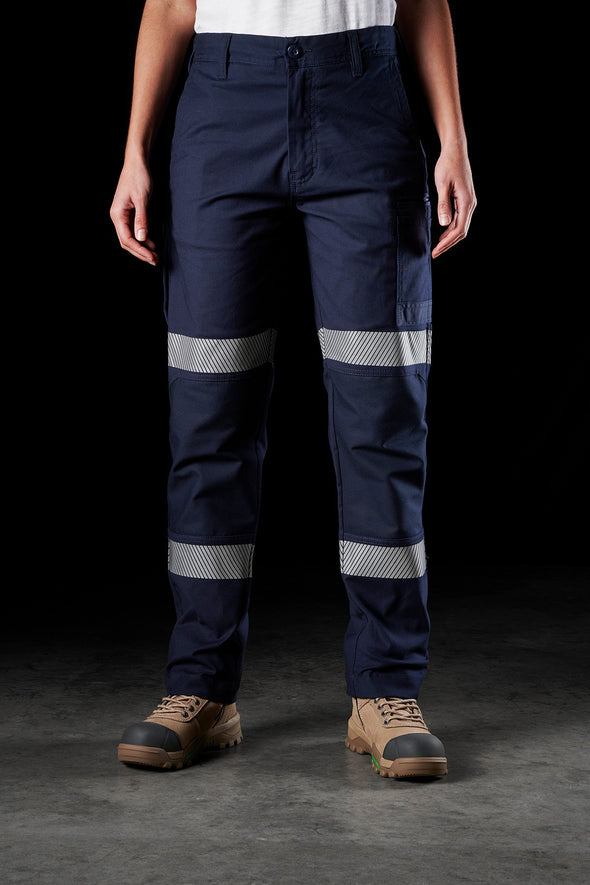 FXD WP-3TW Womens Reflective Work Pant 360 Degree Stretch - National Workwear Gold Coast Australia