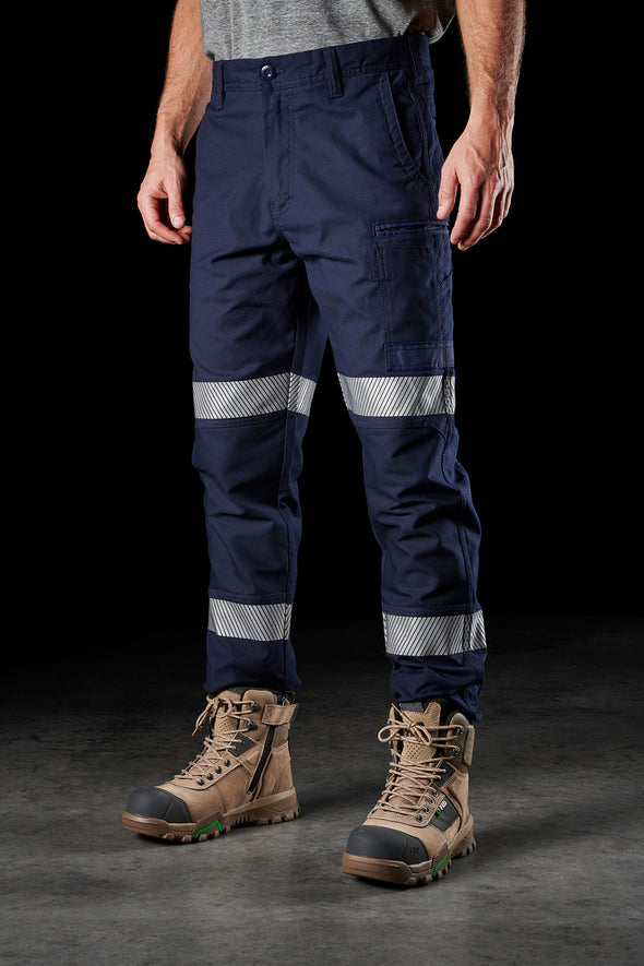 FXD Workwear WP-3T Reflect Taped Pants at National Workwear Gold Coast Australia.
