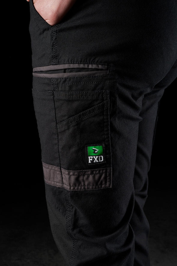 FXD WP-4W Ladies Slim Fit Cuffed Pant - National Workwear Australia