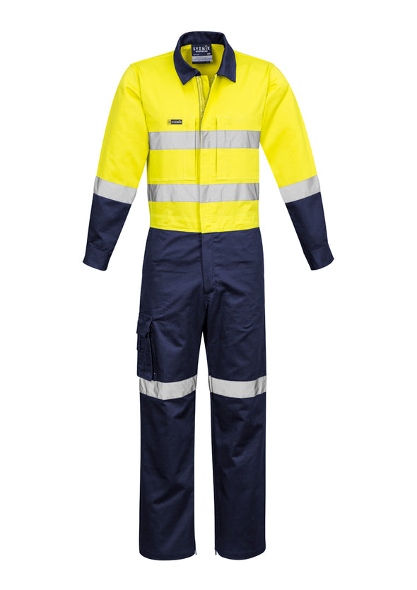 Syzmik ZC804 Men's Rugged Cooling Taped Overall at National Workwear Gold Coast Australia.