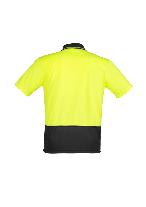 Syzmik ZH231 Unisex Hi Vis Basic Spliced S/S Polo