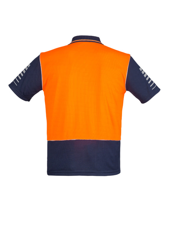 Syzmik - ZH236 - Mens Hi Vis Zone Polo