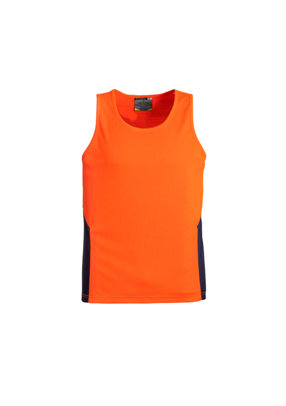 Syzmik Workwear ZH239 Unisex Hi-Vis Squad Singlet at National Workwear Australia.